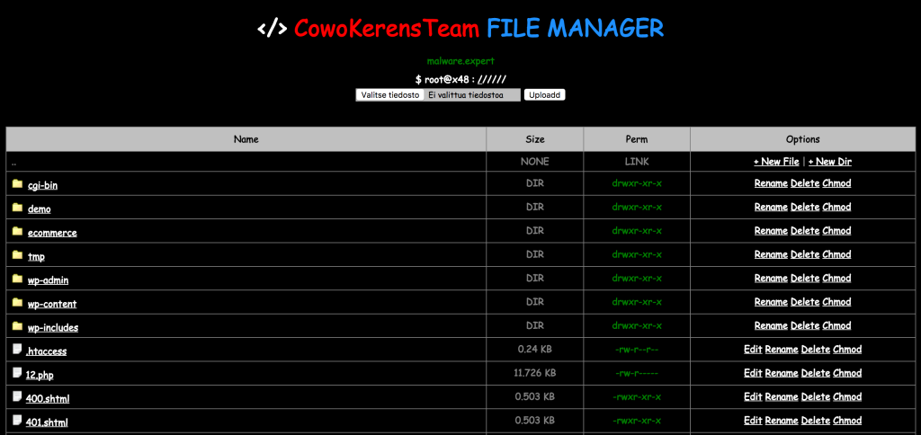 CowoKerensTeam File Manager