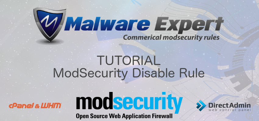 Find and disable ModSecurity rule