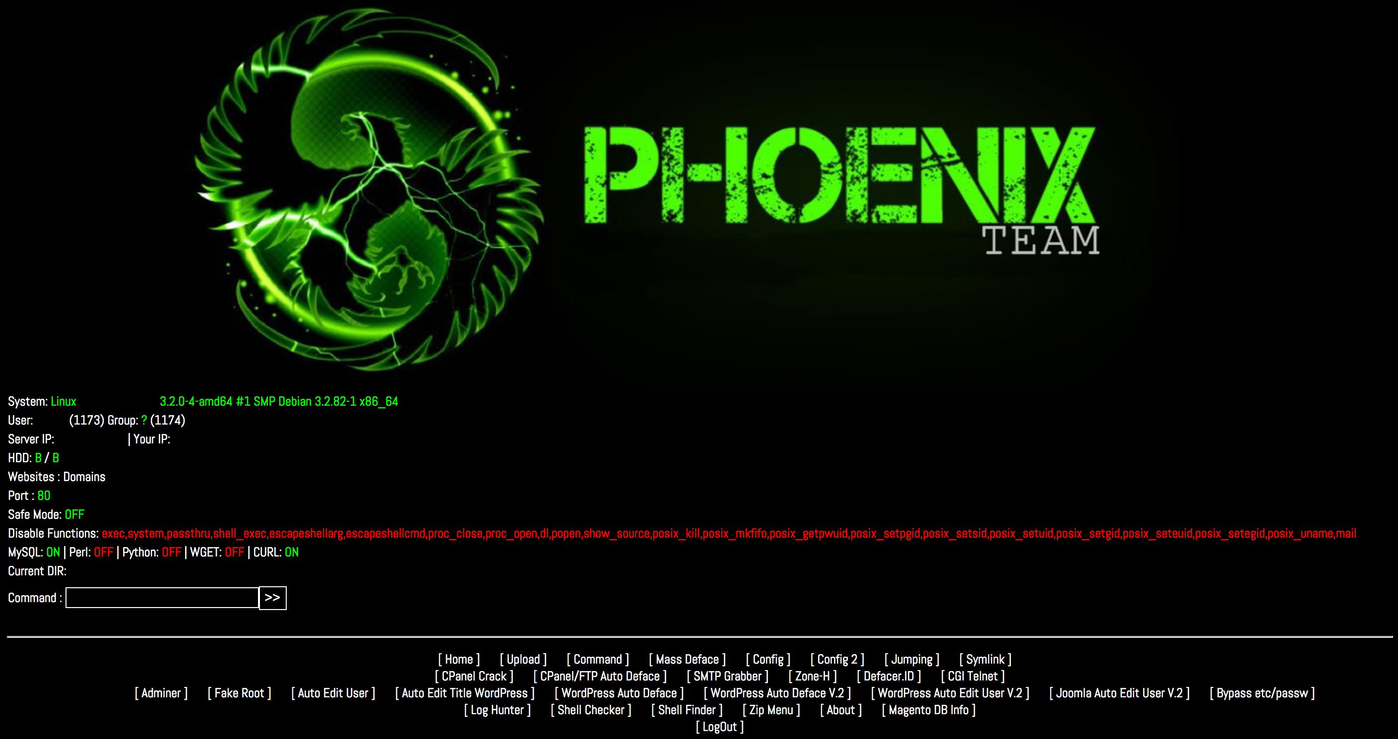 Phoenix WebShell
