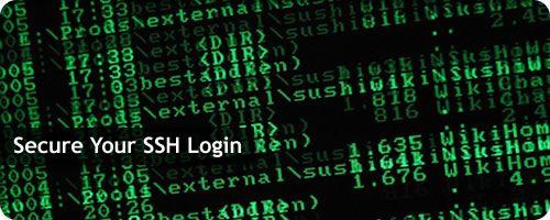 secure ssh