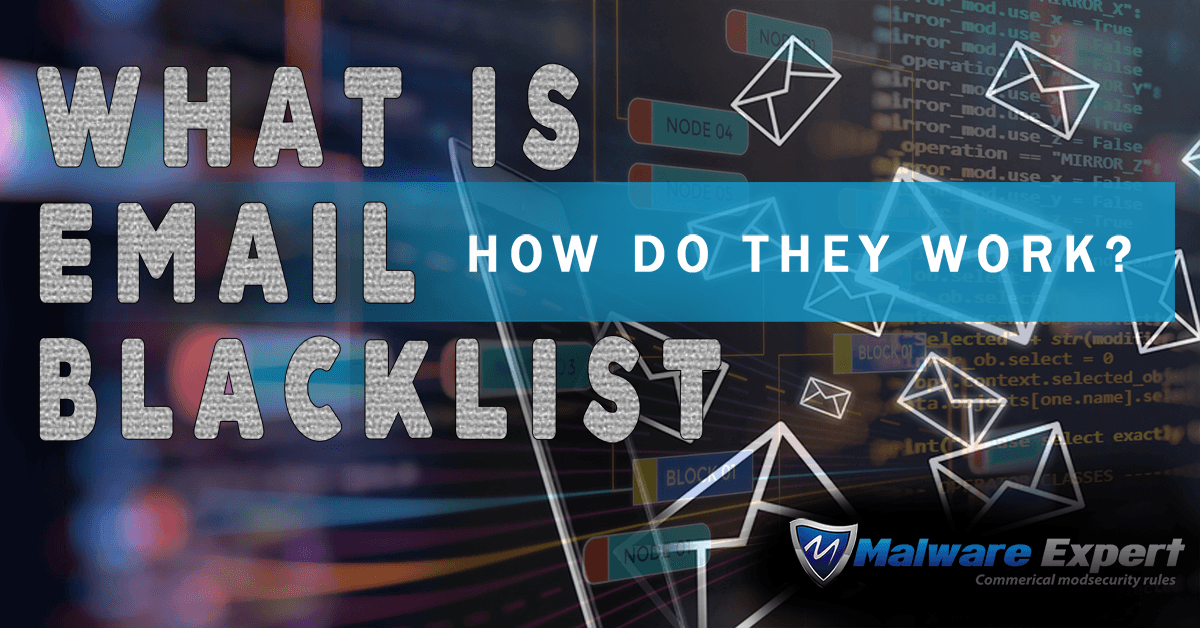 what is email blacklist