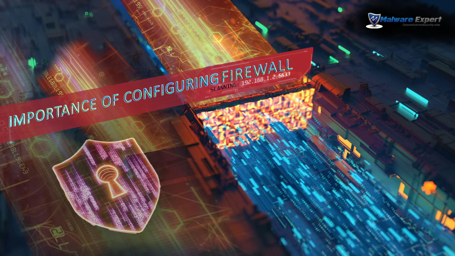 Importance of configuring firewall