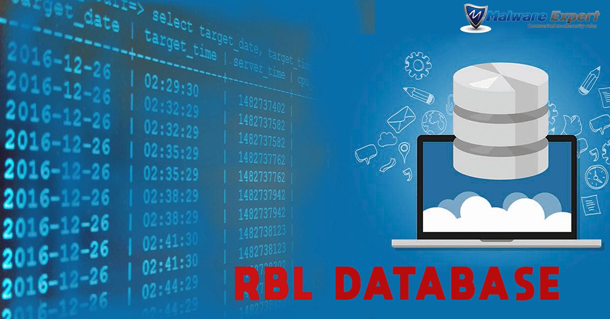 RBL database