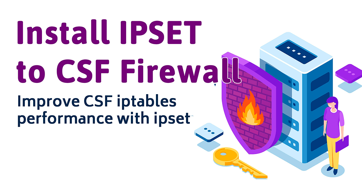 install ipset to csf