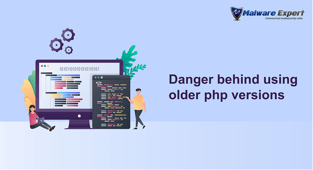Danger behind using older php versions