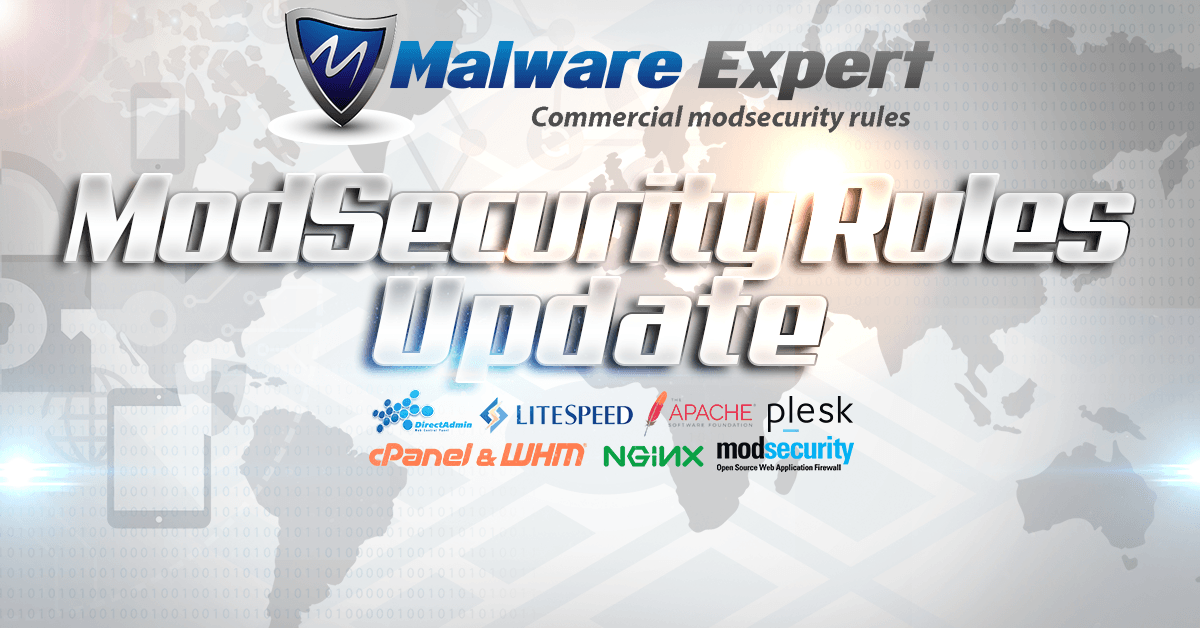 ModSecurity Rules Update